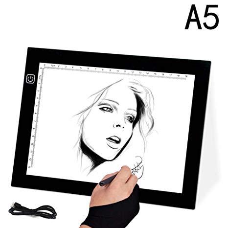 466x466 copy board led drawing light box, super thin led
