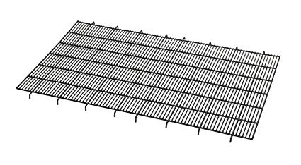 425x234 floor grid for dog crate elevated floor grid fits