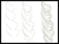 200x150 how to draw curly hair and afro ethnic hair drawing tutorials