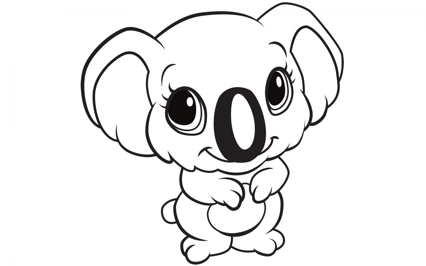 Drawing Cute Baby Animals | Free download on ClipArtMag