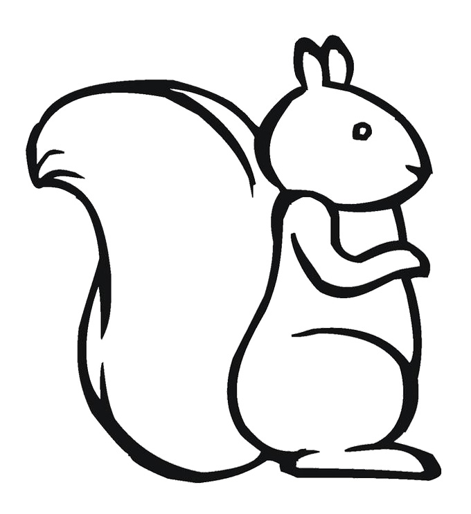 680x743 Chipmunk Drawing Kid For Free Download