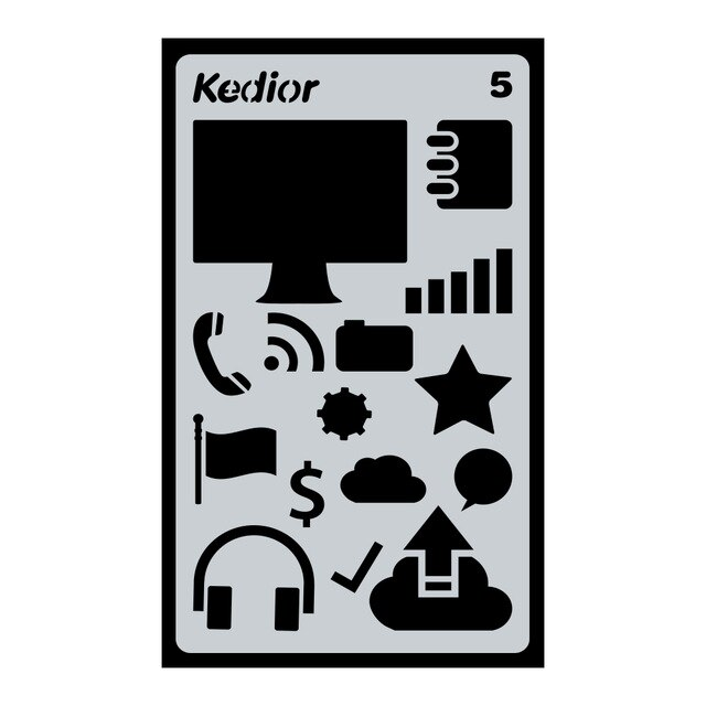 640x640 pcs bullet journal stencil plastic planner stencils journal