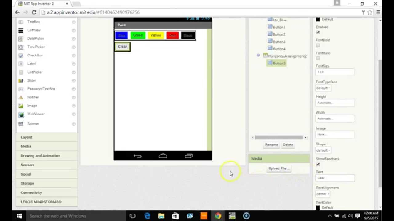 1280x720 app inventor draw, save, and load a canvas