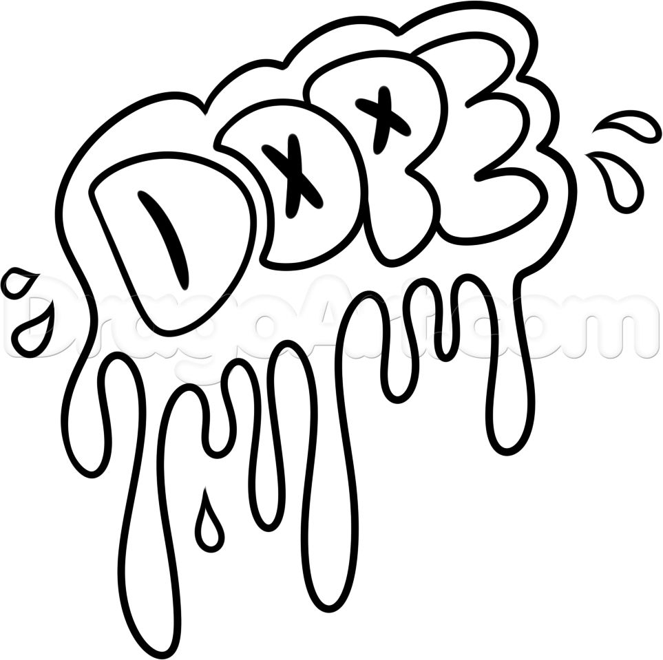 963x959 Easy Cool Drawing Ideas Cool Graffiti Drawing Simple Drawing