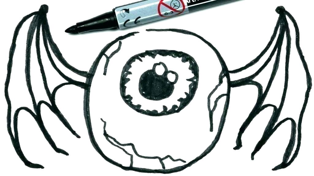 1024x576 Scary Halloween Drawings Scary Spooky Halloween Drawings Easy