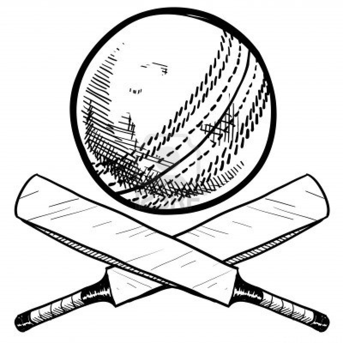 1200x1200 stock vector drawings cricket sport, cricket bat, sports drawings