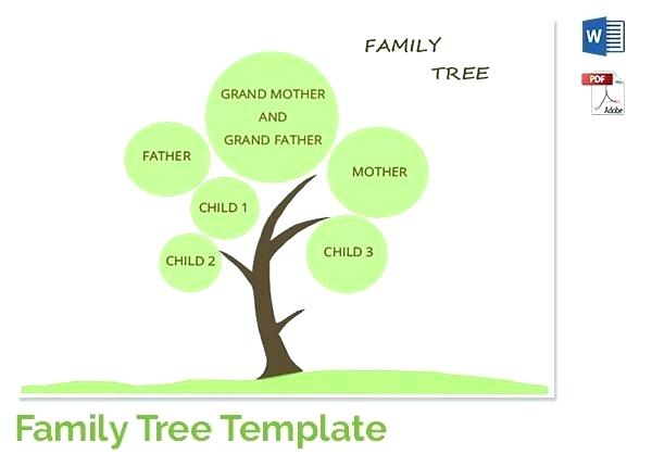 600x430 Free Easy Family Tree Template Blank Form Ancestry Printable