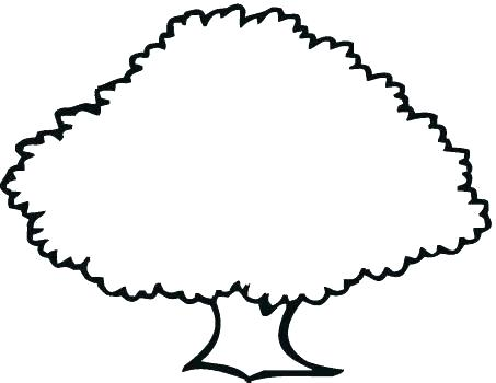 453x350 Simple Tree Outline Simple Tree Outline Dead Stencil Simple Family
