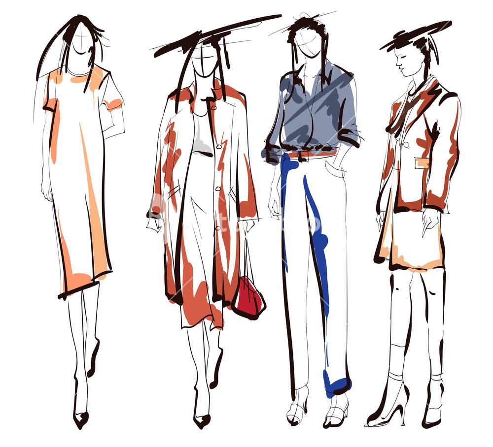 1000x908 fashion girls sketch fashion illustration drawing fashion models
