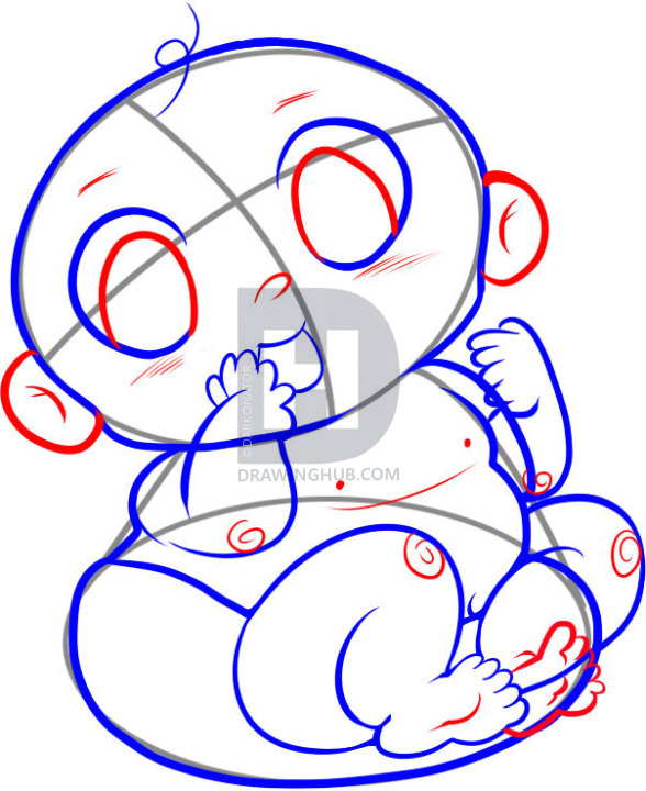 588x720 How To Draw Babies, Step
