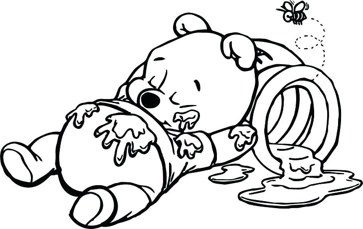 728x460 Baby Winnie The Pooh Drawing
