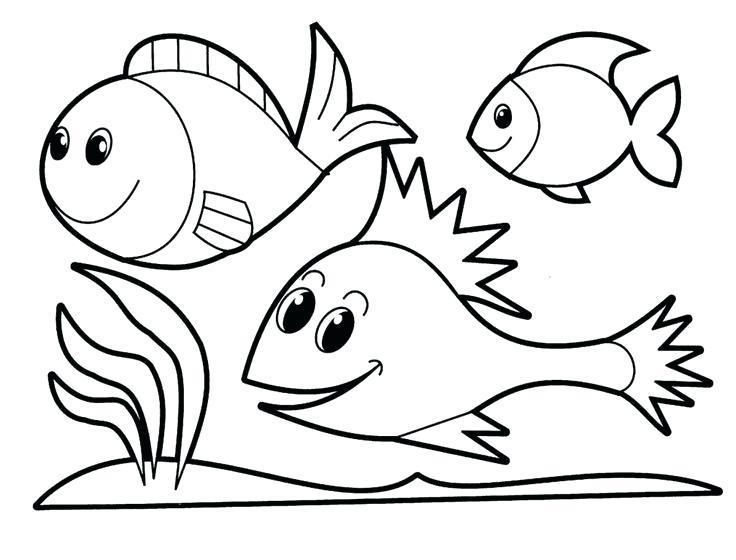 736x560 kids simple drawings drawing of kids fish drawing for kids gallery