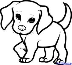 236x214 how you draw a cute dog how to draw a beagle puppy, beagle puppy