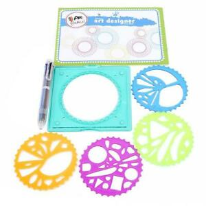 300x300 Painting Multi Function Puzzle Spirograph Children Drawing Plastic