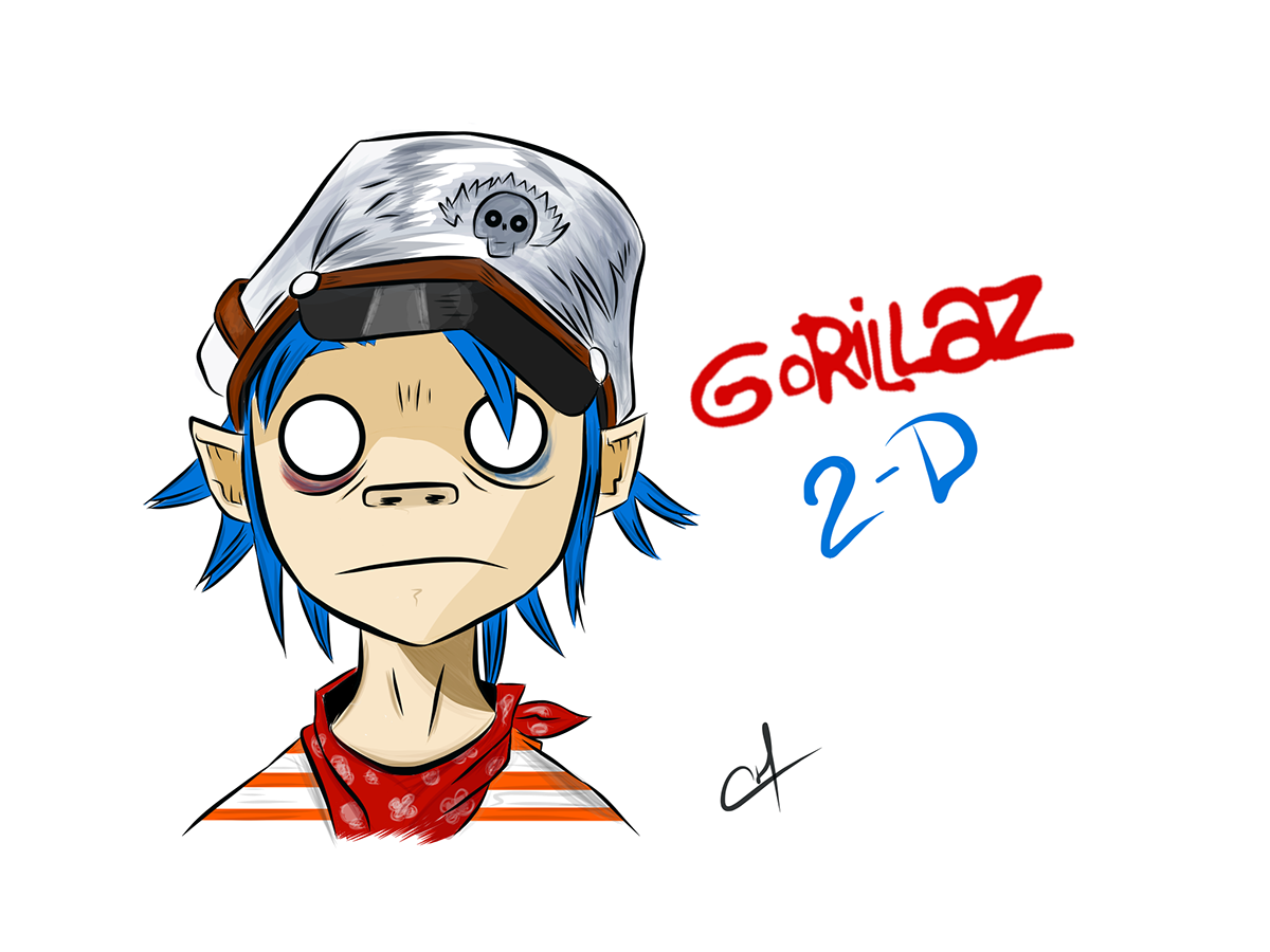 1200x900 Collection Of Free Gorillaz Drawing Gallery Download On Ui Ex