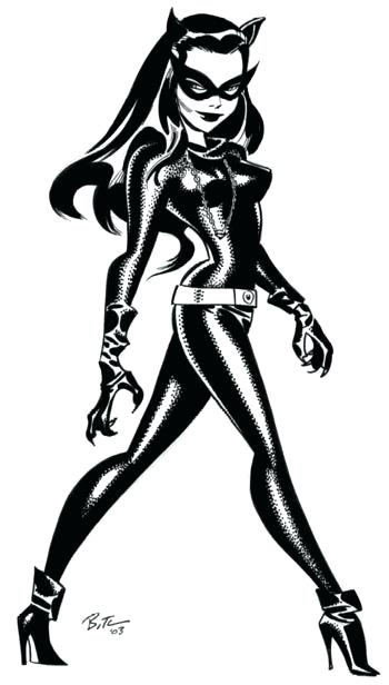 350x616 How To Draw Cat Woman Fighting Game Origin How To Draw Catwoman