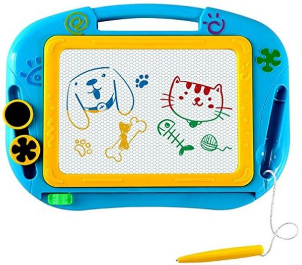 600x525 Eedan Magnetic Magna Doodle Drawing Board For Kids Colorful