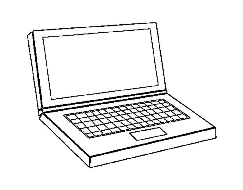 1024x802 Engaging Computer Coloring Pages Playing Boy Games Drawing