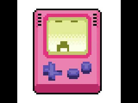 480x360 Game Boy Drawing Animation