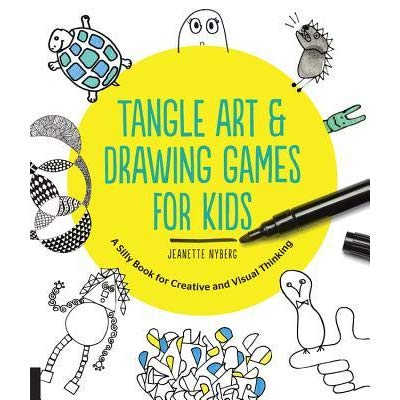 400x400 Tangle Art And Drawing Games For Kids A Silly Book For Creative