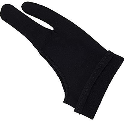 413x400 mudder thickened artist glove tablet drawing glove