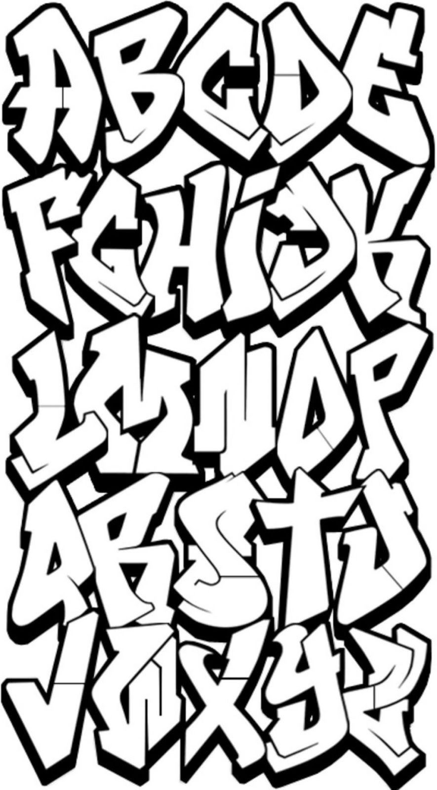 Drawing Graffiti Letters Free Download Best Drawing