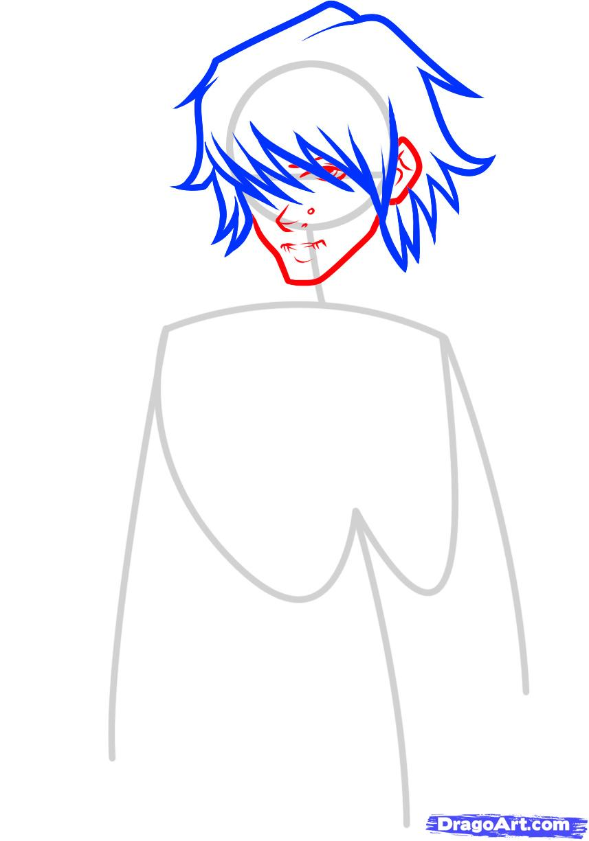 857x1225 how to draw a hot guy, hot guy, step
