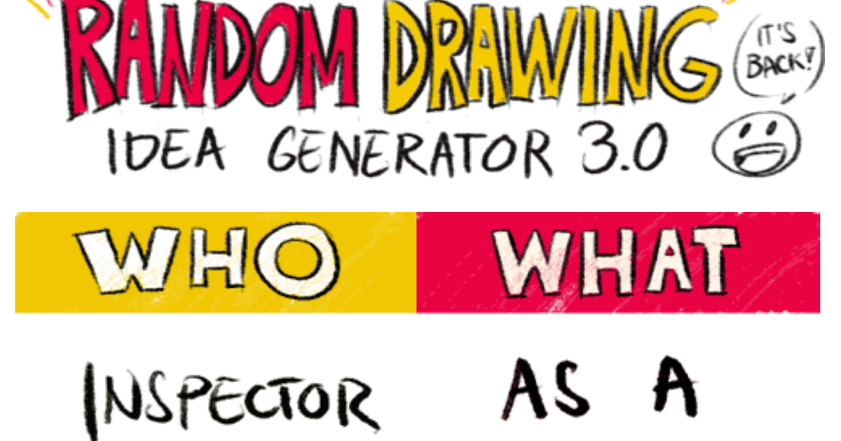 Drawing Idea Generator | Free download best Drawing Idea