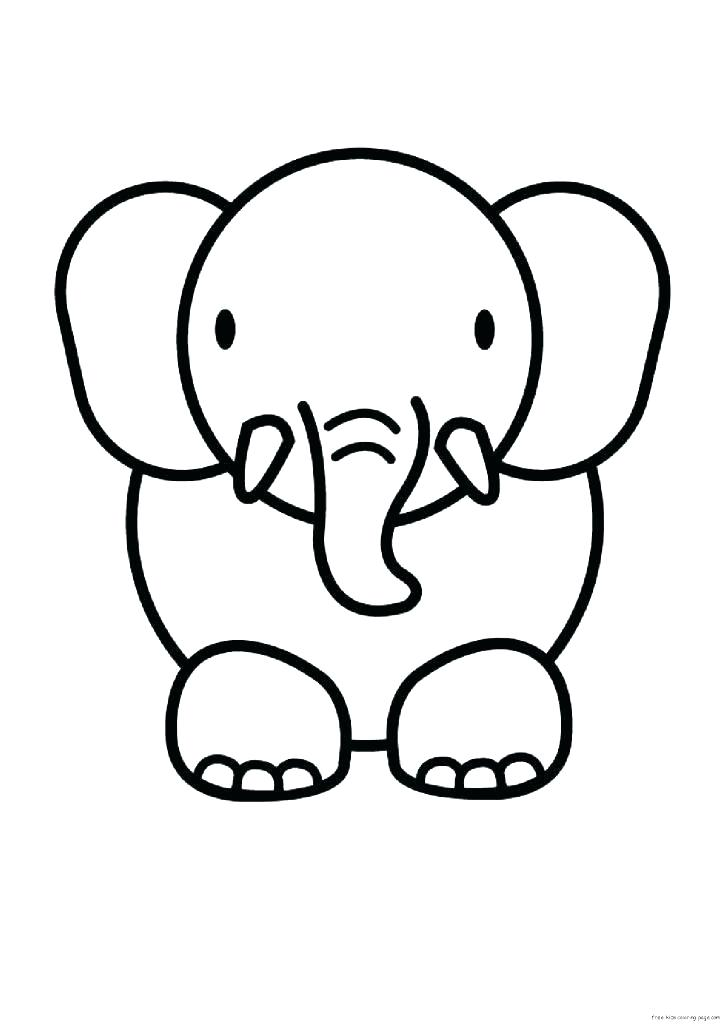 723x1024 How To Draw Easy Cute Animals Baby Animal Drawing Cute At Com Free