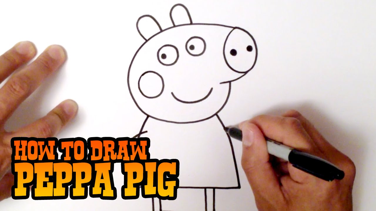 1280x720 How To Draw Peppa Pig