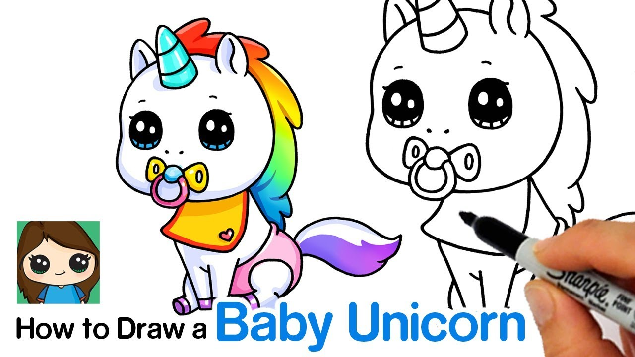 1280x720 How To Draw A Baby Unicorn Unstable Unicorns