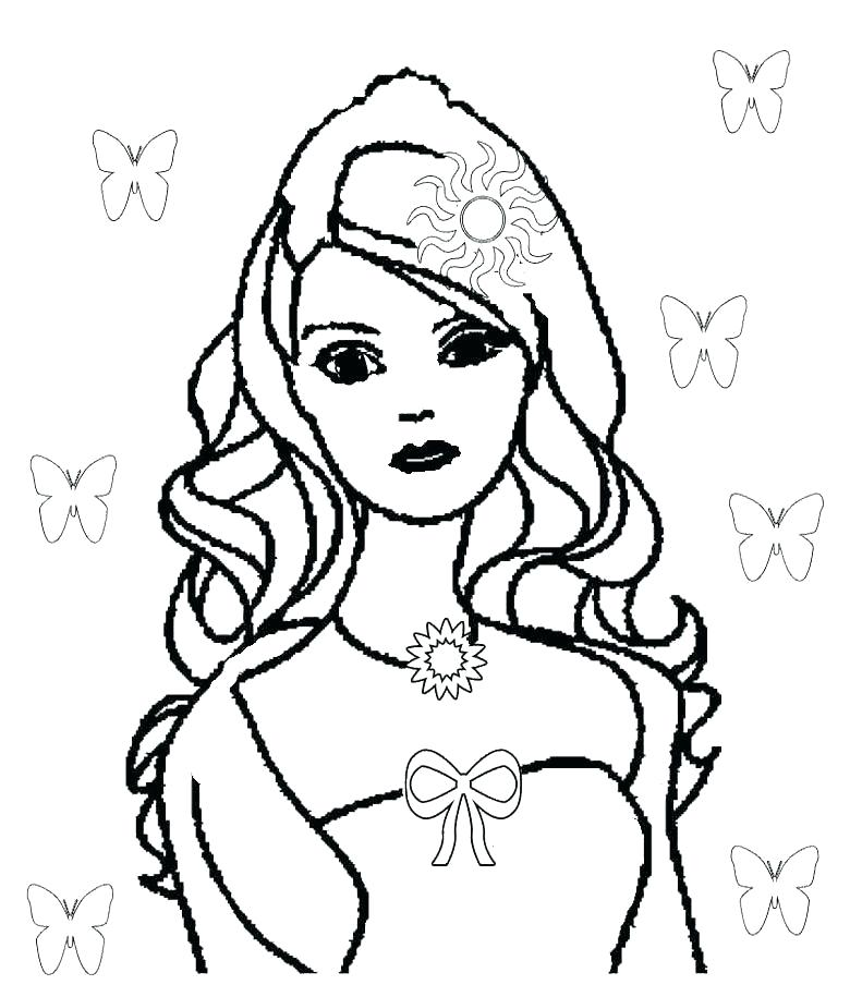 780x915 barbie drawing pages barbie colouring pages printable barbie