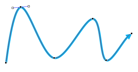 486x253 hand drawn lines in powerpoint and curved lines