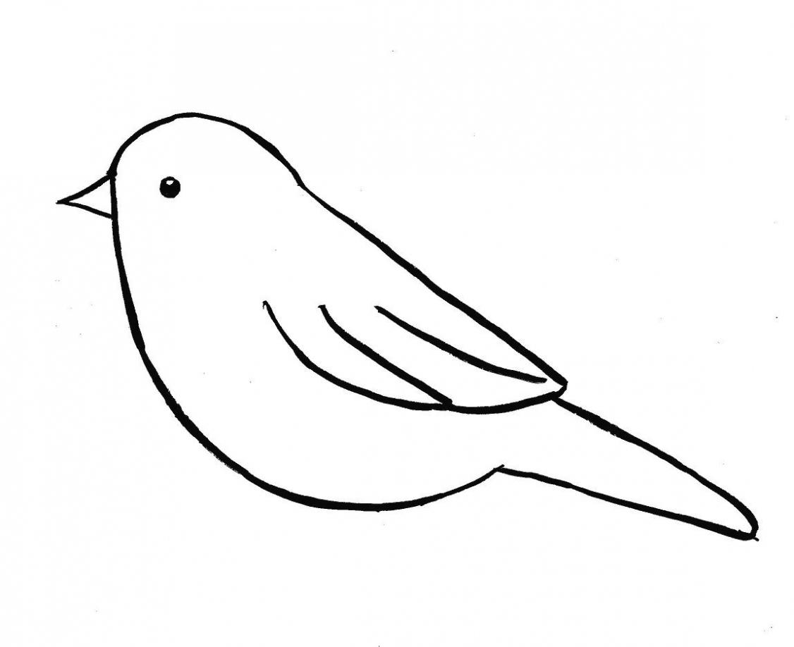 1126x918 drawing bird drawing for kid bird drawing for kindergarten bird