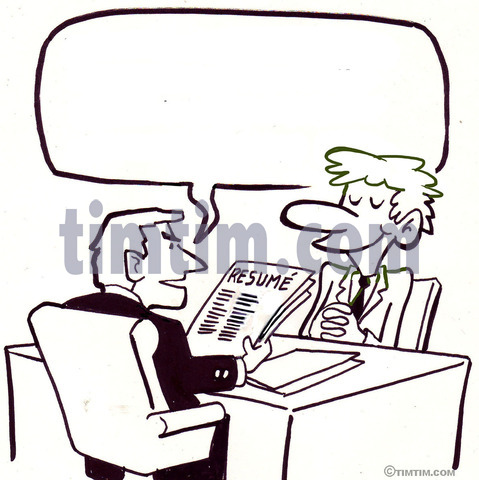 479x480 Free Drawing Of A Job Interview Bw From The Category Occupations
