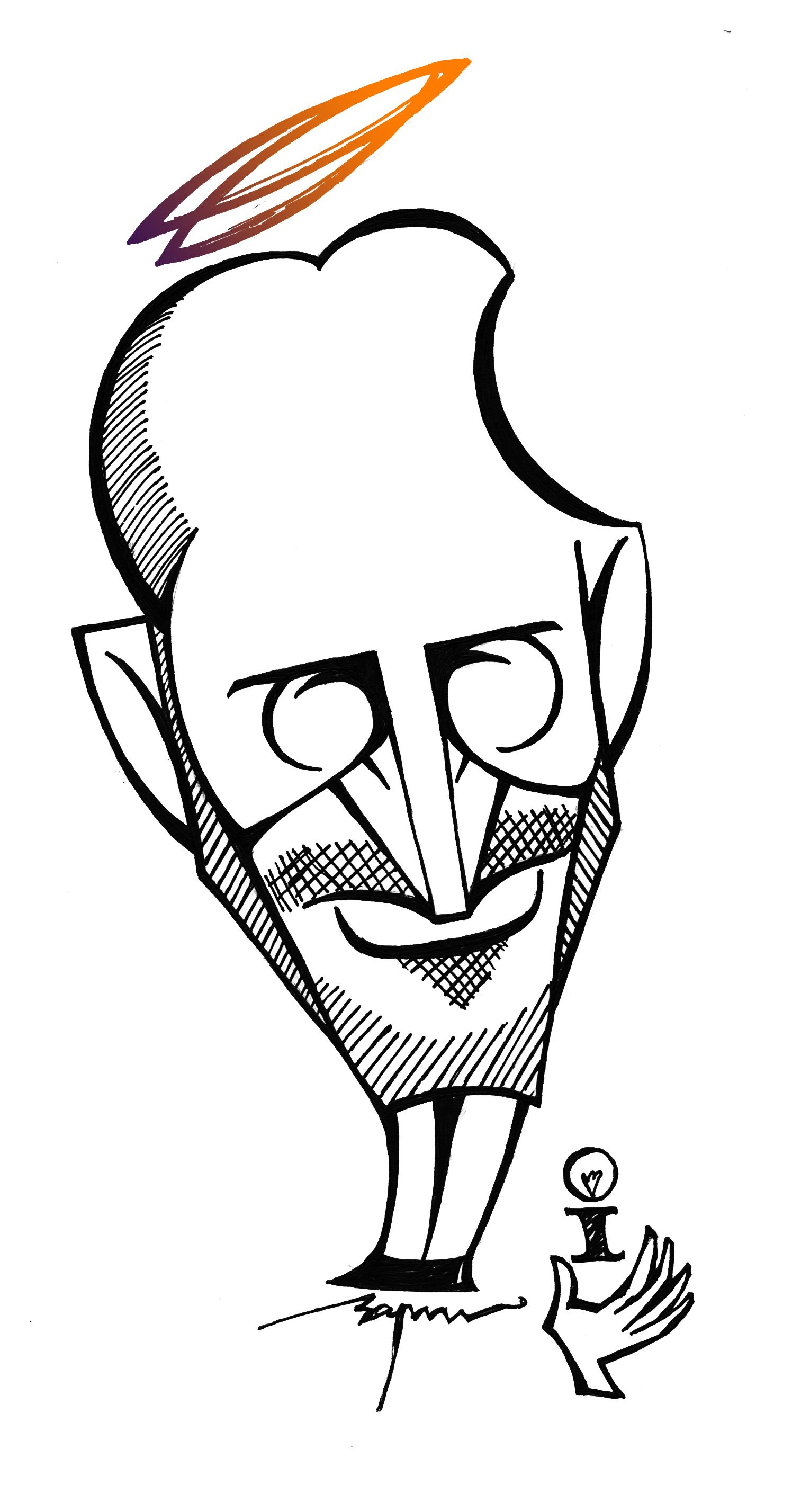 1496x2855 Steve Jobs My Caricatures Toons In Steve Jobs