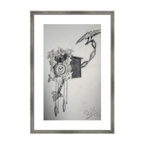 300x300 Carpe Crustum Framed Print