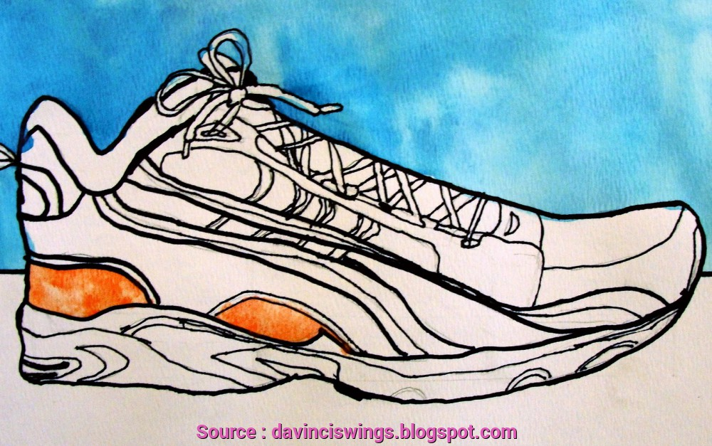 1000x627 New Contour Shoe Drawing Lesson Plan Galleries