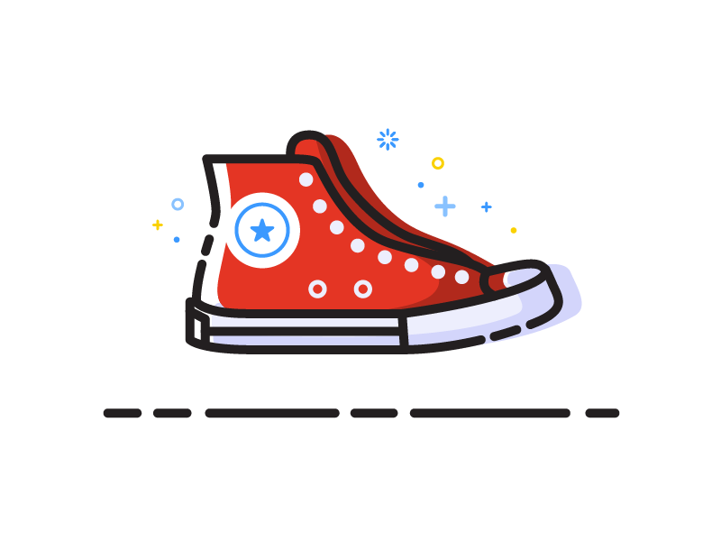 800x600 Converse Chuck Taylor In Design Inspiration Illustration