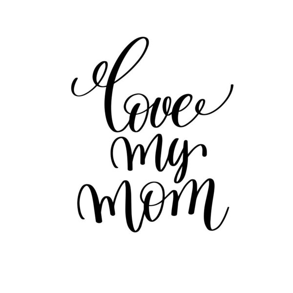 600x600 Positive Quotes Love My Mom Art Print