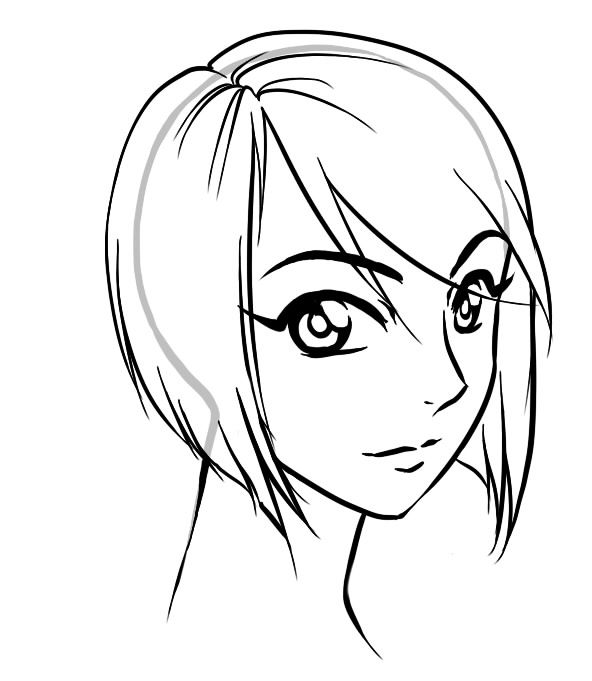 Drawing Manga Hair