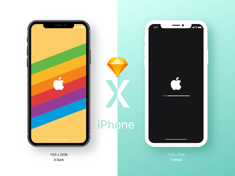 800x600 Iphone X Mockup Sketch Freebie