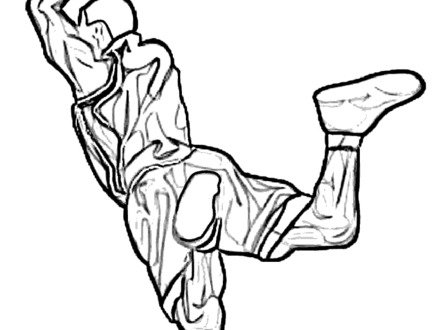 440x330 basketball player coloring pages, girls basketball coloring
