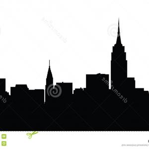 300x300 new york city skyline drawing free hand sketch of new york city