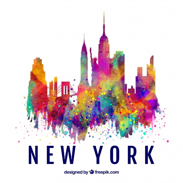 626x626 New York Skyline Vectors, Photos And Free Download