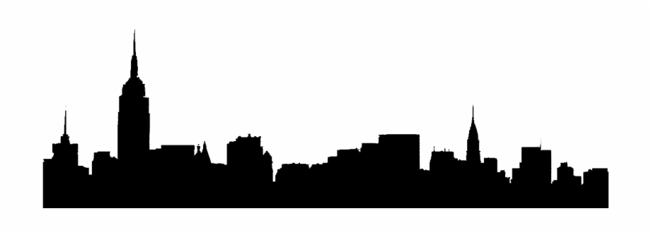 920x333 Pix For New York Skyline Outline Drawing