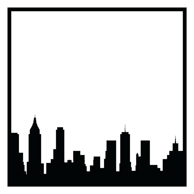 736x736 Coloring Pages New York City Landmarks