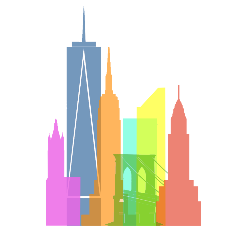 1000x993 Drawing Structures Building New York Transparent Png Clipart