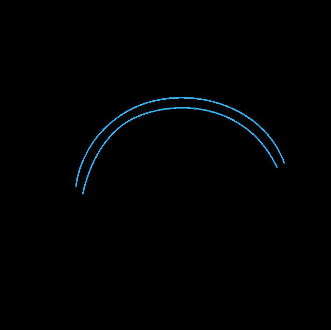 680x678 How To Draw A Rainbow
