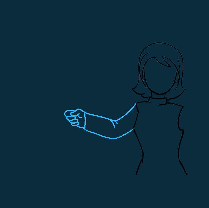 680x678 How To Draw A Teacher